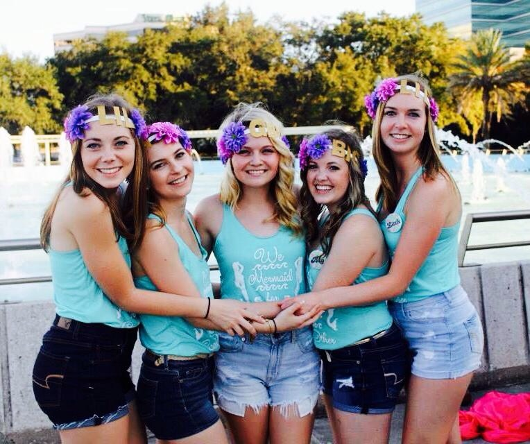 Reveal Group: Custom T-Shirts For Alpha Chi Big/Little Reveal