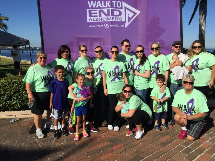 Lexington Manor Walks For Alzhiemers! T-Shirt Photo