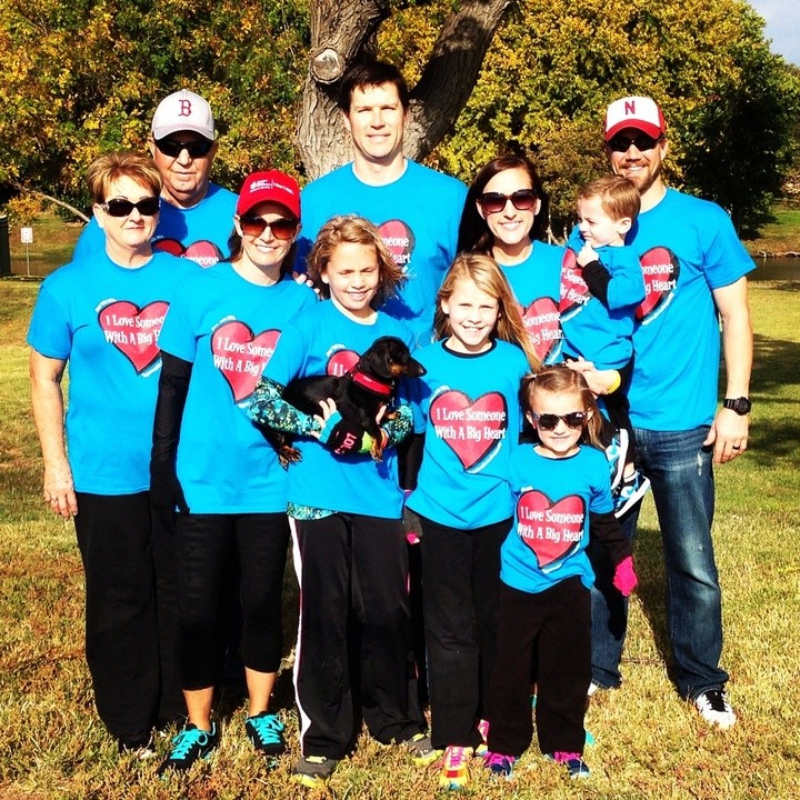 Team Tasha @ Amarillo, Tx Heart Walk T-Shirt Photo
