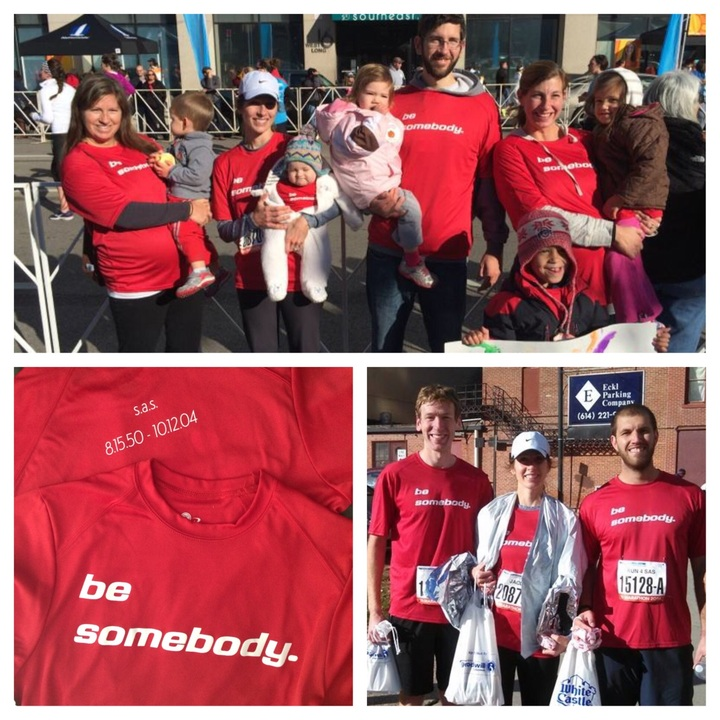 Be Somebody! T-Shirt Photo