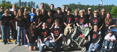 "Walk Like Madd Team, ""In Loving Memory Of Derrick"" T-Shirt Photo"