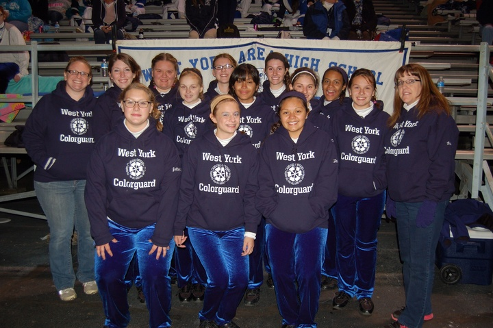 West York High School Colorguard T-Shirt Photo