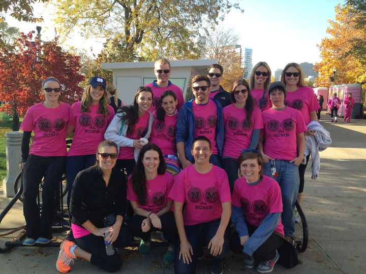 Team Nm Da Bomb At Making Strides Against Breast Cancer Walk! T-Shirt Photo