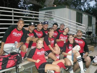 2008 Borrachos Softball T-Shirt Photo