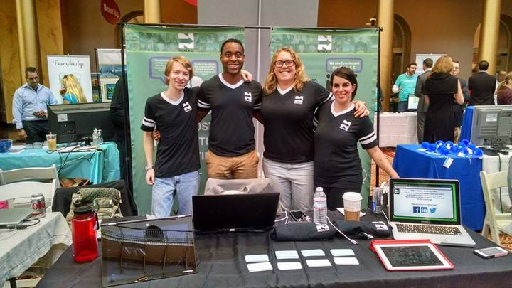The Ncrease Team Increasing Tech Involvement @Dc Tech Day! T-Shirt Photo
