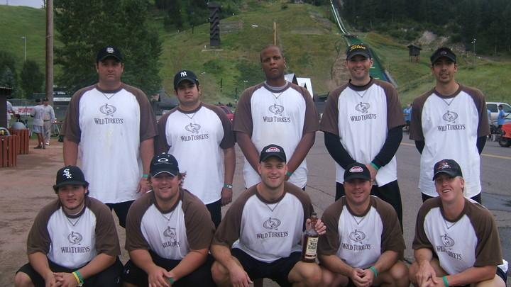 Wild Turkeys Softball Team T-Shirt Photo