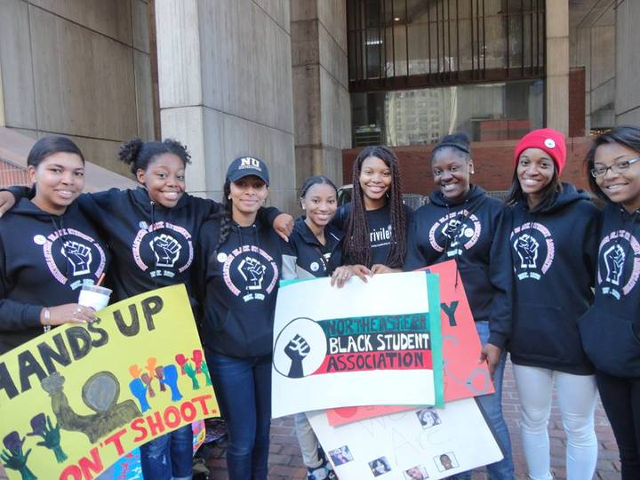 Nbsa Sporting Their Custom Ink Hoodies At Peaceful Demonstration T-Shirt Photo