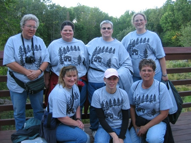 Wild Women's Trip 2007 T-Shirt Photo