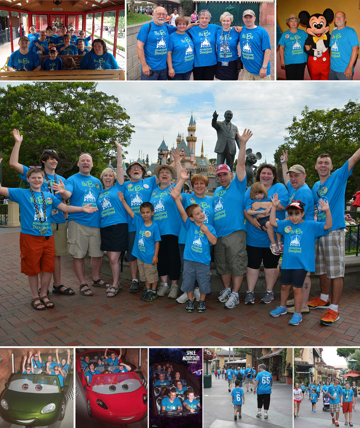 The B's Adventure In Disneyland! T-Shirt Photo