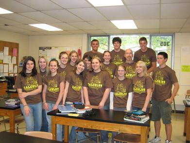 Ida High Calculus Class T Shirts T-Shirt Photo
