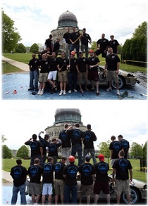 Phi Delta Theta Annual Car Bash For Als T-Shirt Photo