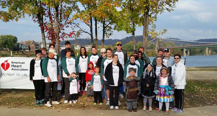 2014 Heart Walk Wheeling T-Shirt Photo