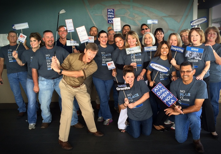 Granite Properties   No Place I'd Rather Be 2014 T-Shirt Photo