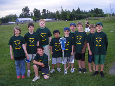 Highlander's Lacrosse 3/4 Team T-Shirt Photo