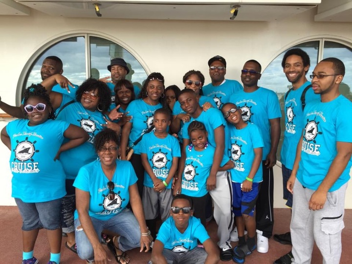 Parker Family Cruise T-Shirt Photo