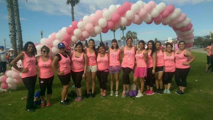 Walking For Breast Cancer T-Shirt Photo