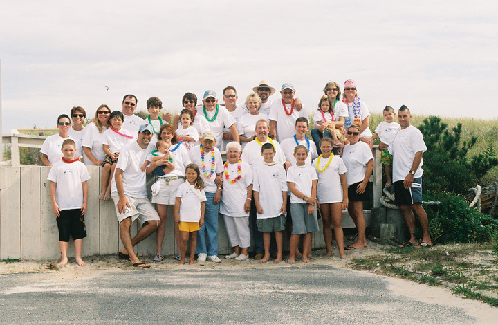 The Bombas Family Returns To Lbi T-Shirt Photo