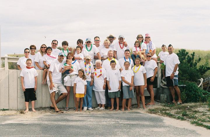 The Bombas Family Returns To Lbi T-Shirt Photo