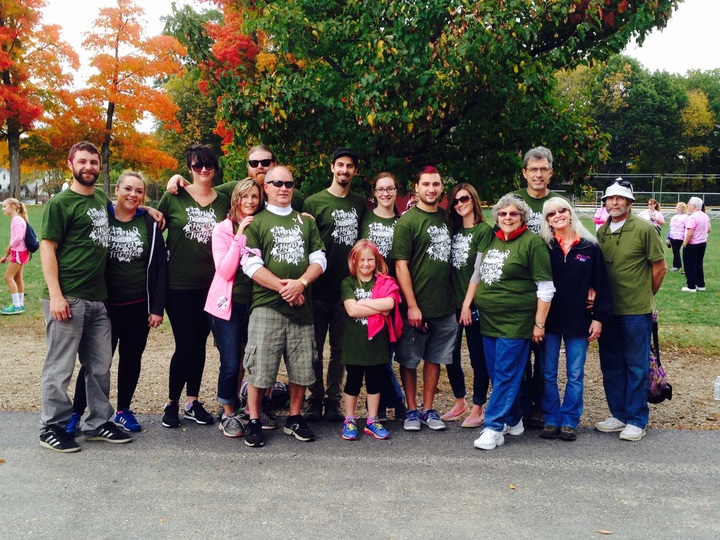 Ann's Thundering Herd Of Turtles At The Making Strides Against Breast Cancer Event T-Shirt Photo