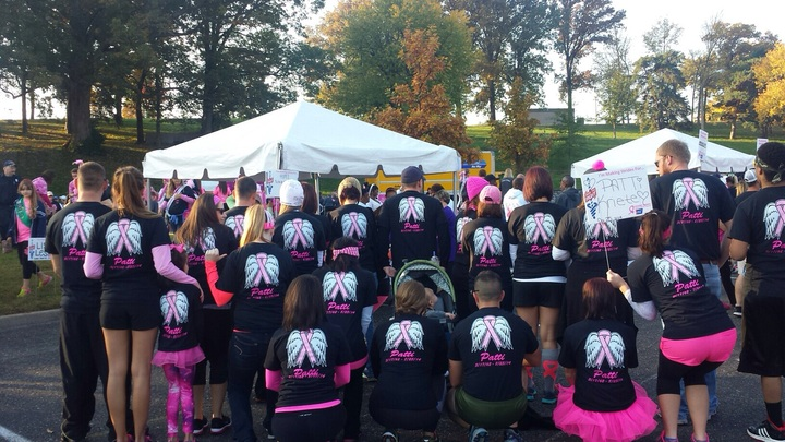 Making Strides For Breast Cancer St L 2014 T-Shirt Photo