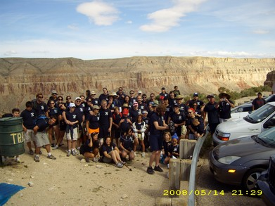 Hualapai Hill Top   Start Of Our Trip T-Shirt Photo
