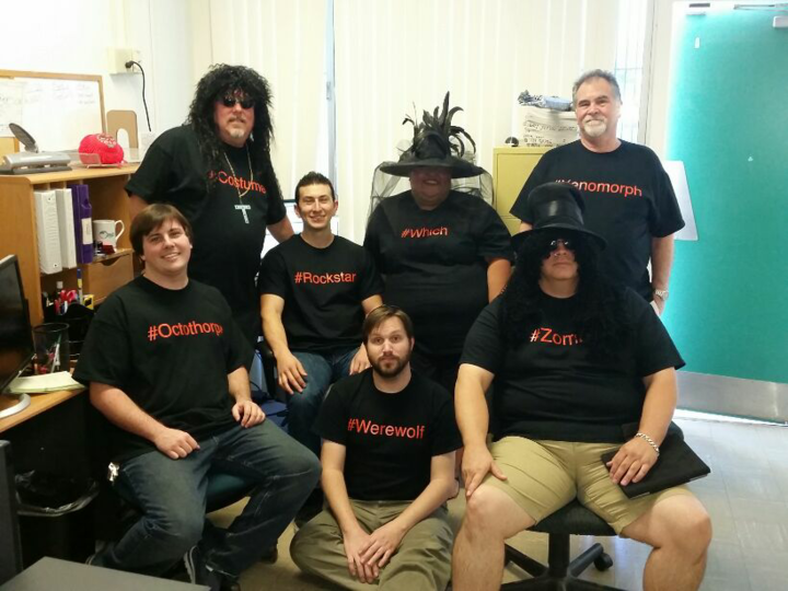 Pvs It Halloween Team  T-Shirt Photo