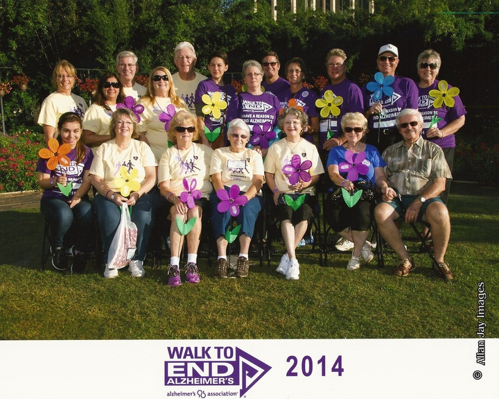 Alzheimer's Memory Walk Orlando 2014 T-Shirt Photo