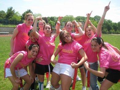 Powder Puff Football Junior Tam! T-Shirt Photo