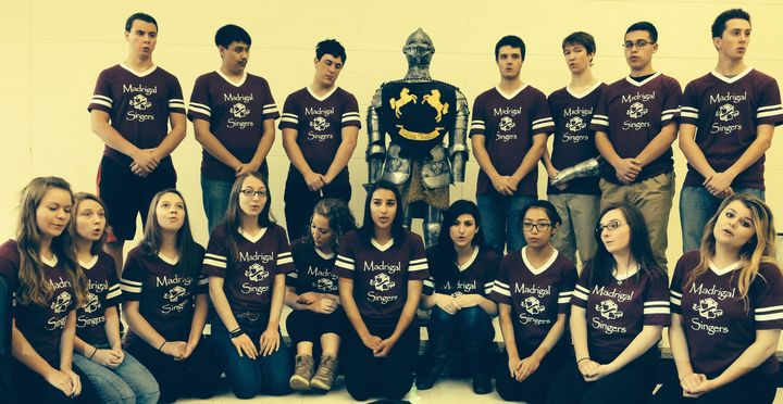 Rmhs Madrigal Singers T-Shirt Photo