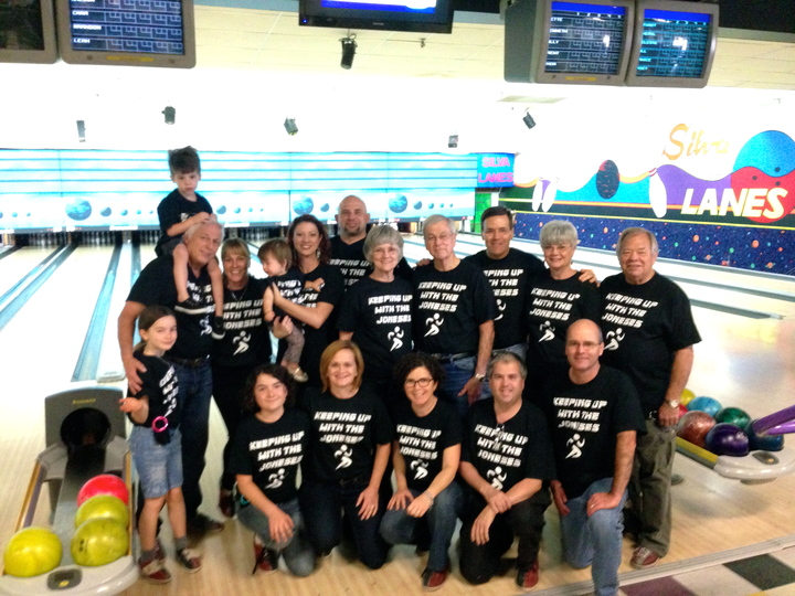 Keeping Up With The Joneses T-Shirt Photo