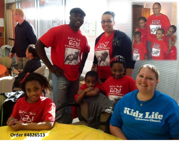 Rock Your Red (Ishmael Jr. Day   Remembering Our Son) T-Shirt Photo