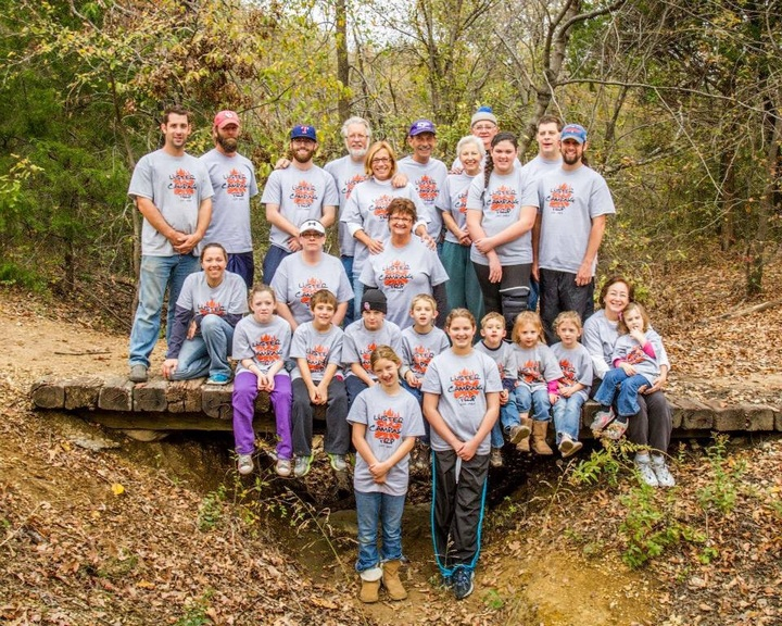 Luster Family Camping Trip T-Shirt Photo