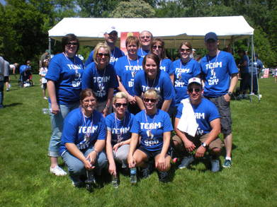 Arthritis Walk Team Bay T-Shirt Photo