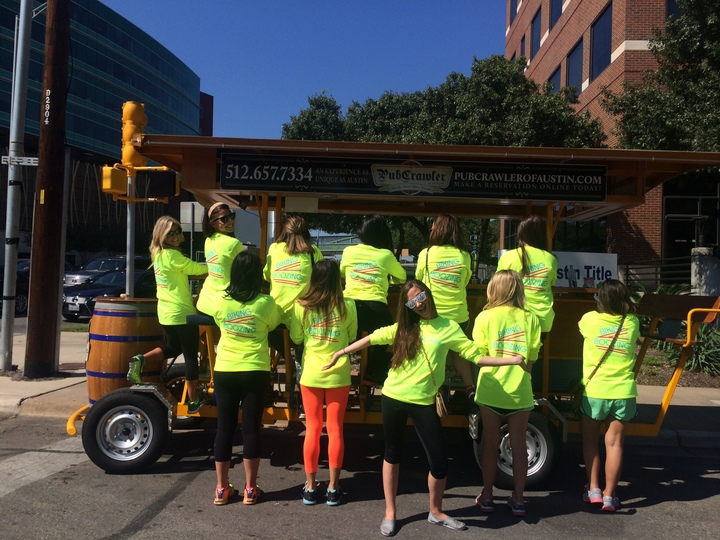 Bachelorette  Boozing And Biking T-Shirt Photo