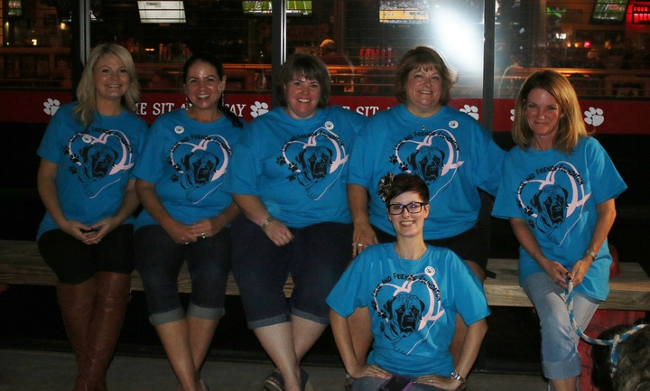 Louie And Friends Yappy Hour T-Shirt Photo