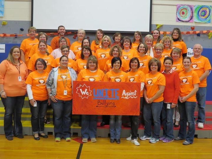 King Staff On Unity Day T-Shirt Photo
