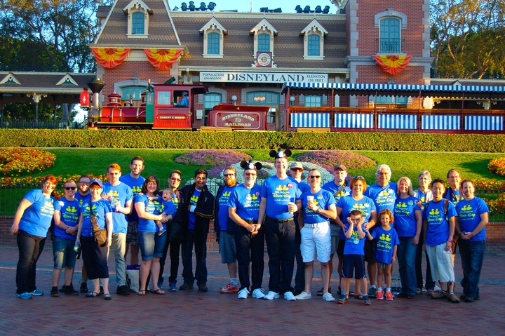 Duck Day In Disneyland! T-Shirt Photo