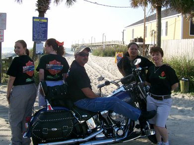 Nibils Restaurant   Bike Week T-Shirt Photo