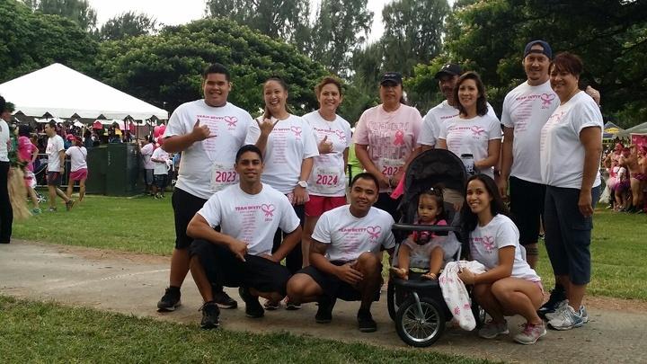 Team Betty 2014 Breast Cancer Walk T-Shirt Photo