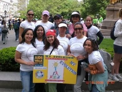 My Evolution   Aids Walk Ny 2008 T-Shirt Photo