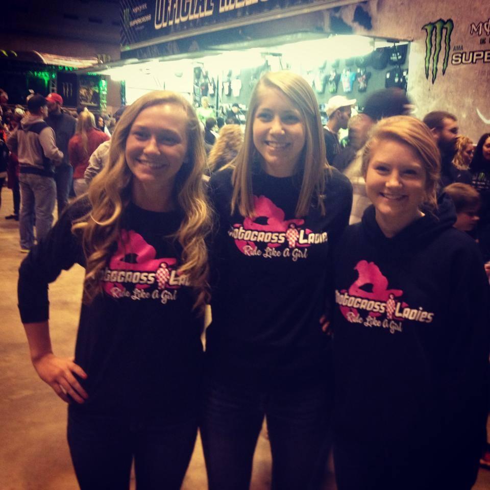 Custom T Shirts For Motocross Ladies At St Louis Supercross Shirt