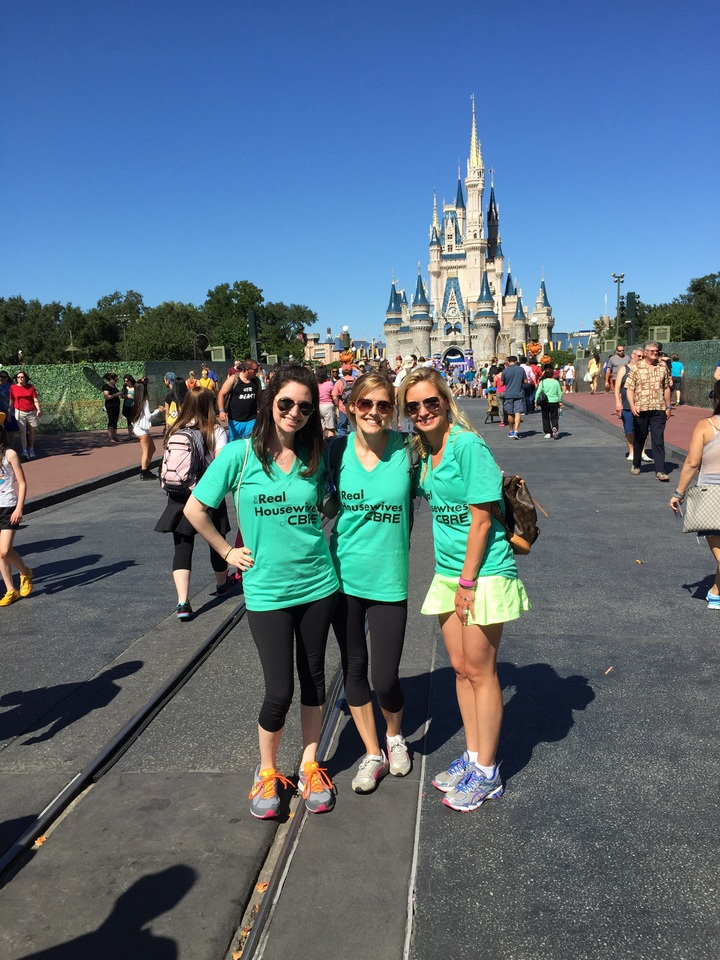 Real Housewives Of Cbre Take Over Disneyworld  T-Shirt Photo