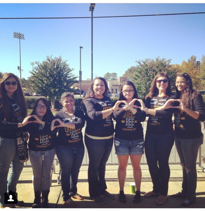 Queen Bees Of Alpha Pi Omega  T-Shirt Photo