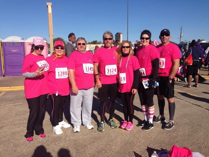 Sabine Parish For Susan Komen T-Shirt Photo