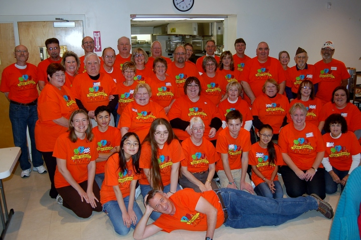 Senior Saturdays' Volunteers T-Shirt Photo