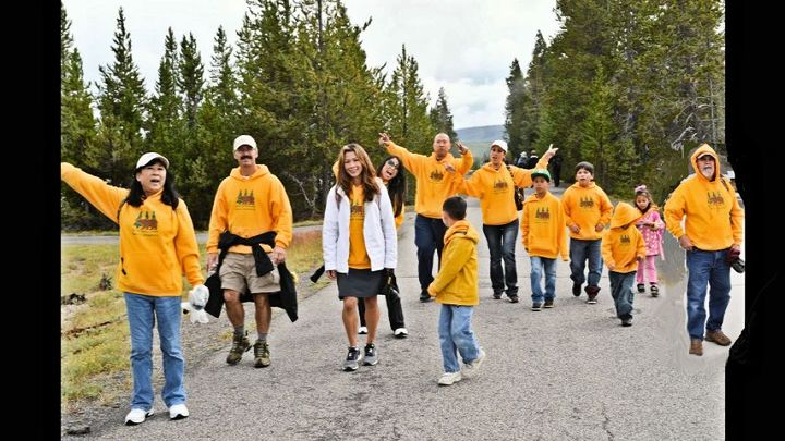 Yellowstone Family Adventure T-Shirt Photo