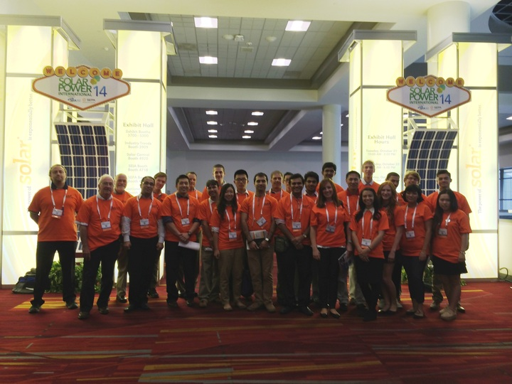 Solar Power International Volunteers T-Shirt Photo