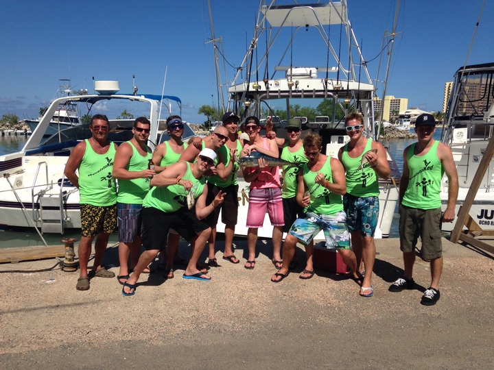 Jamaica Deep Sea Fishing T-Shirt Photo
