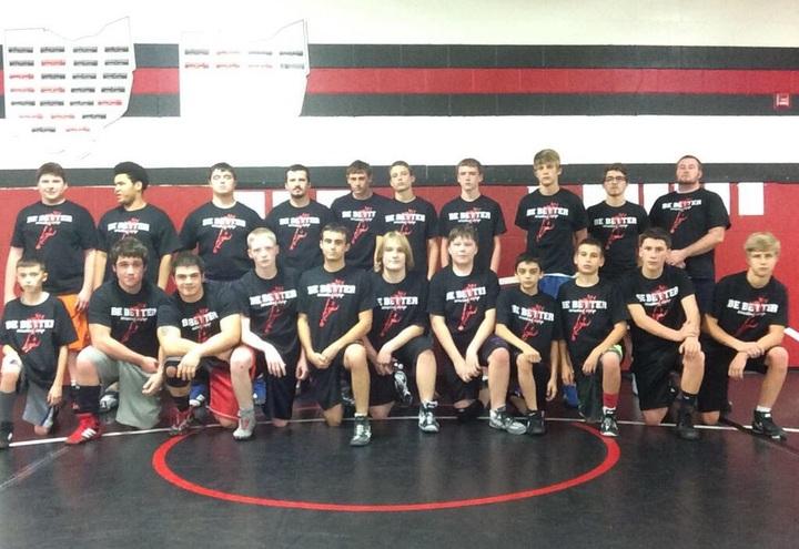 Be Better Wrestling Camp T-Shirt Photo