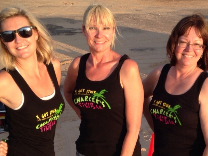 Charlie's Tiki Bar @ Dunes ,Kermit Texas . T-Shirt Photo